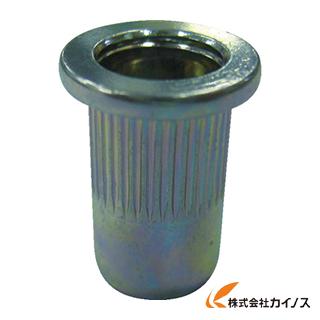 エビ ローレットナット(1000本入) Dタイプ スティール 6-3.2 NSD6MR