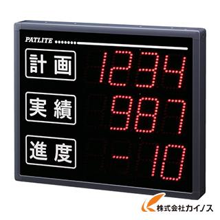 パトライト VE型 インテリジェント生産管理表示板 VE100-304S
