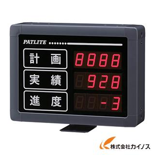 パトライト VE型 インテリジェント生産管理表示板 VE25-304S