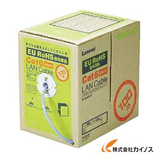 エレコム EURoHS指令準拠LANケーブル300m/リール巻ライトグレー LD-CT6/LG300/RS