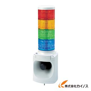パトライト LED積層信号灯付き電子音報知器 LKEH402FARYGB