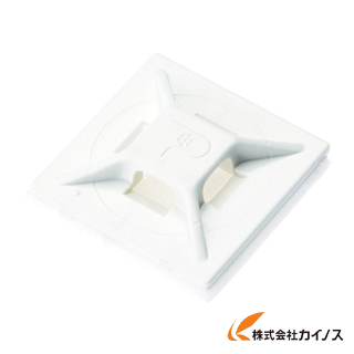 パンドウイット マウントベース アクリル系粘着テープ付き 耐候性黒 ABM112-AT-D0