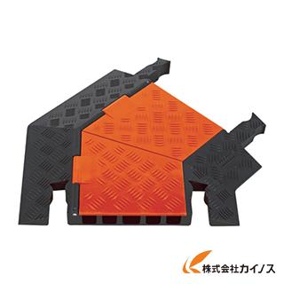 CHECKERS ガードドッグ ケーブルプロテクタ 中重量型 電線5本 右曲 GDT5X125-R-O/B