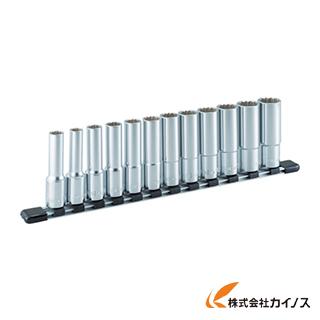 TONE ディープソケットセット(12角・ホルダー付) 12pcs HDL412