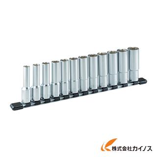 TONE ディープソケットセット(6角・ホルダー付) 12pcs HSL412