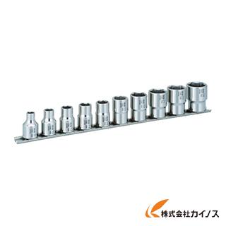 TONE SUSソケットセット(6角・ホルダー付) 10pcs SHS410