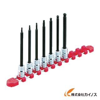 KTC 9.5sq.ロングヘキサゴンビットソケットセット[9コ組] TBT3L09BH