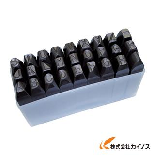 TRUSCO 逆英字刻印セット 10mm SKC-100