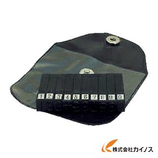浦谷 ハイス精密組合刻印 数字セット6.0mm UC-60S