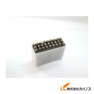 TRUSCO 逆英字刻印セット 4mm SKC-40