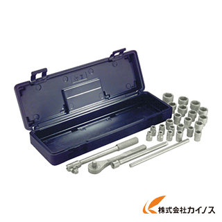 Ampco 12角ソケットセット22個 AMCW-260M