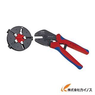 KNIPEX 9733-01 マルチクリンプ マガジン付圧着工具 9733-01