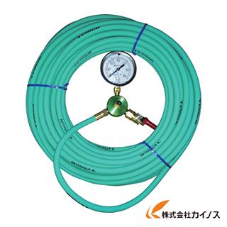 カンツール エアホース20m 圧力計付 HT-20-T