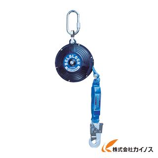 ツヨロン ベルト巻取式ベルブロック(6mタイプショック付き) BB-60-BX