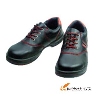 シモン 安全靴 短靴 SL11-R黒/赤 25.0cm SL11R-25.0