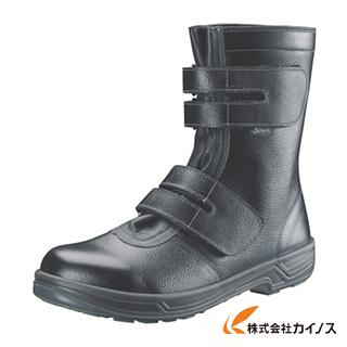 シモン 安全靴 長編上靴マジック式 SS38黒 23.5cm SS38-23.5