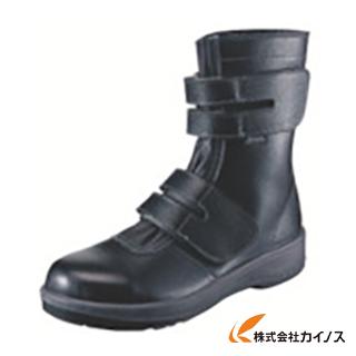 シモン 安全靴 長編上靴 7538黒 24.0cm 7538BK-24.0