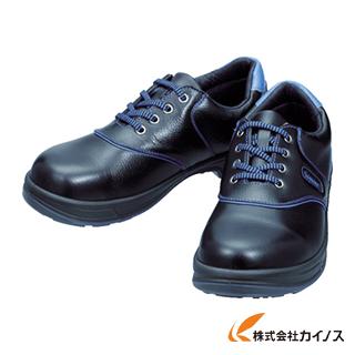 シモン 安全靴 短靴 SL11-BL黒/ブルー 24.5cm SL11BL-24.5