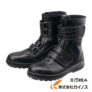 シモン 安全靴 長編上靴 マジック WS38黒 25.0cm WS38-25.0