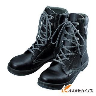 シモン 安全靴 長編上靴 SS33黒 23.5cm SS33-23.5
