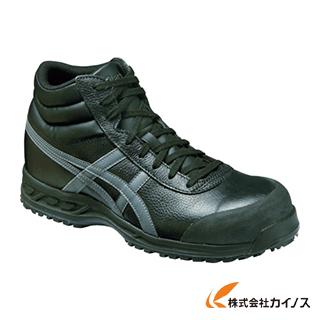 アシックス ウィンジョブ71S ブラックXガンメタリック 24.0cm FFR71S.9075-24.0