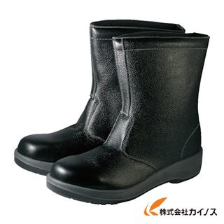 シモン 安全靴 半長靴 7544黒 25.5cm 7544N-25.5
