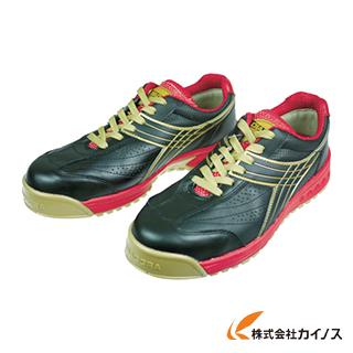 ディアドラ DIADORA 安全作業靴 ピーコック 黒 25.0cm PC22-250