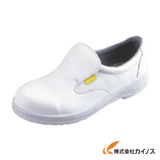 シモン 静電安全靴 短靴 7517白静電靴 23.5cm 7517WS-23.5