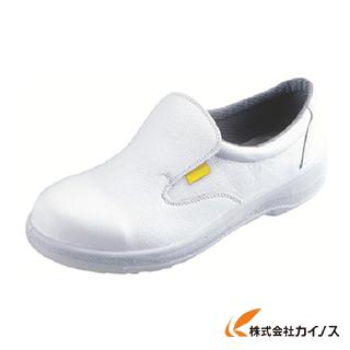 シモン 静電安全靴 短靴 7517白静電靴 24.0cm 7517WS-24.0