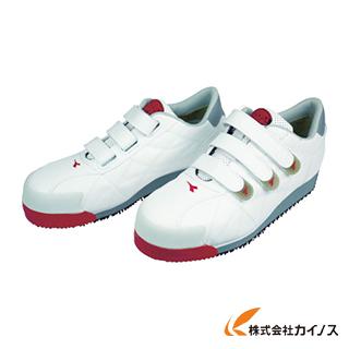 ディアドラ DIADORA 安全作業靴 アイビス 白 27.5cm IB11-275