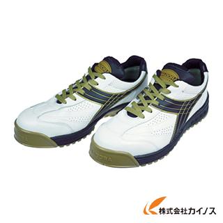 ディアドラ DIADORA 安全作業靴 ピーコック 白/黒 27.5cm PC12-275