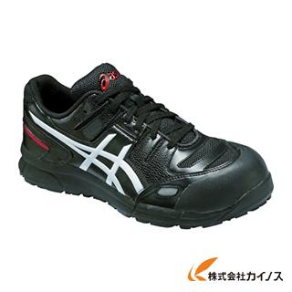 アシックス ウィンジョブCP103 ブラックXホワイト 24.0cm FCP103.9001-24.0