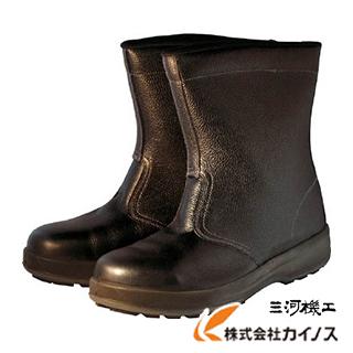 シモン 安全靴 半長靴 WS44黒 25.5cm WS44BK-25.5