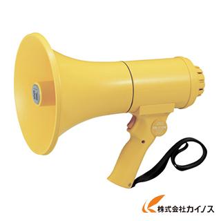 TOA 中型ハンド型メガホン ホイッスル音付き ER-1115W