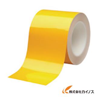 ミドリ安全 ベルデビバハードテープ 黄 100mmX20m VHT-100-Y