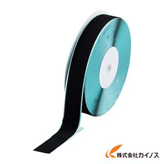 TRUSCO マジックテープ 糊付B側 幅50mmX長さ25m 黒 TMBN-5025-BK