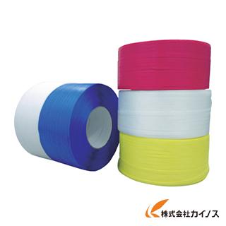 FKK PPバンド 白 15.5mm×2500m GOB-15.5X2500-W (2巻)