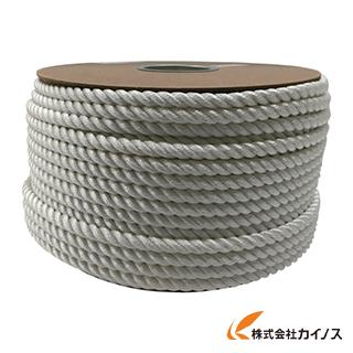 ユタカ ナイロン3ツ打ロープドラム巻 12φ×100m PRJ-6