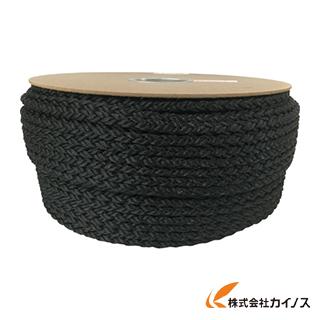 ユタカ ポリエステルクロス係留ドラム巻 12φ×100m 黒 PRD-61