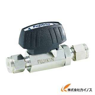 フジキン ステンレス鋼製3.92MPaパワフル継手付ボール弁 PUBV-94-10