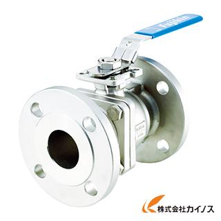 フジキン ステンレス鋼製1MPaフランジ式2ピースボール弁65A(2 1/2) UBV-21-J10R-J-ALX