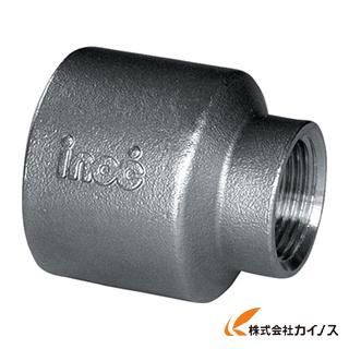 工事用品 高級品 内祝い 管工機材 ねじ込み白管継手 イノック 304RS15AX10A テーパ 異径ソケット