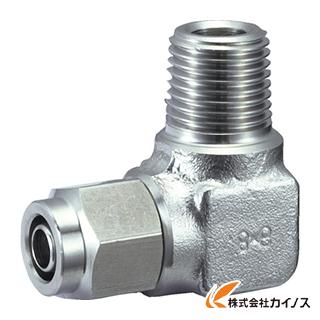 工事用品 管工機材 くい込み管継手 フッ素樹脂チューブ用 アイテム勢ぞろい TRUSCO 再再販 ねじR1 TS4-02ML SUSメイルエルボ 適用チューブ径4X2 4