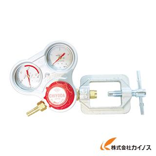 千代田 アセチレン用調整器スタウトフリースライド枠式 SRA