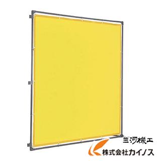 TRUSCO 溶接遮光フェンス 2020型接続固定足 黄 YFASK-Y