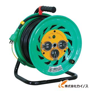 日動 電工ドラム 防雨防塵型100Vドラム アース付 30m FW-E33