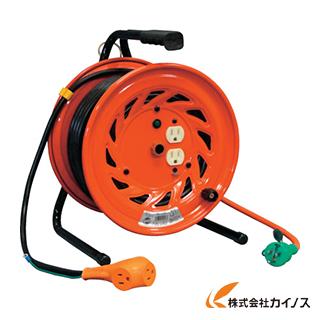日動 電工ドラム びっくリール 100V アース付 30m RND-E30S