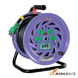 日動 電工ドラム 標準型100Vドラム アース漏電しゃ断器付 30m NF-EB34