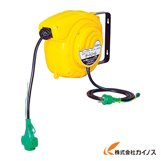 日動 自動巻きリール オートリール 100V 3芯×10m AL-E103N