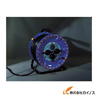 日動 防雨型電工ドラム LEDラインドラム オレンジ NPWL-EK33-O